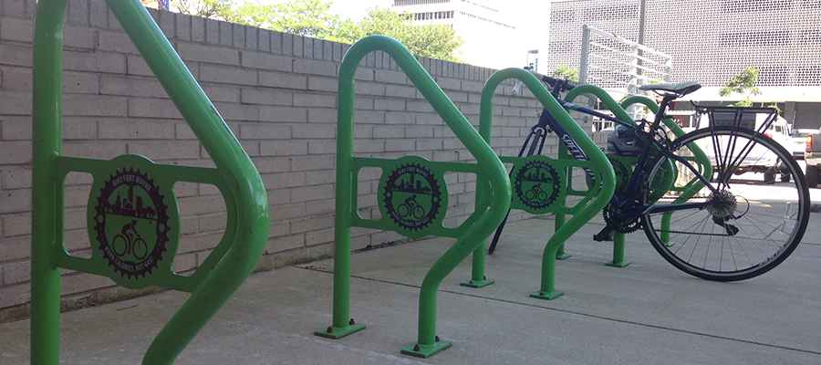 Bike Racks Top Photo