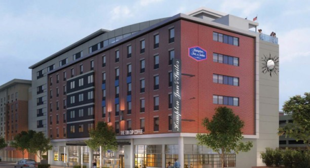 New Hampton Inn Will Open in July