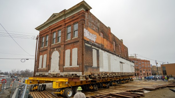 Historic Building to Become Hall's on the Riverfront